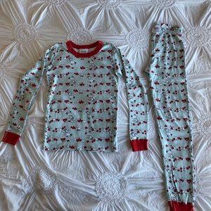 Hanna Andersson Snoopy Valentine pajamas
